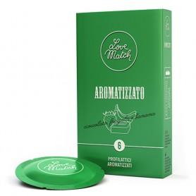 Profilattici Preservativi atizzati love match 6 pz