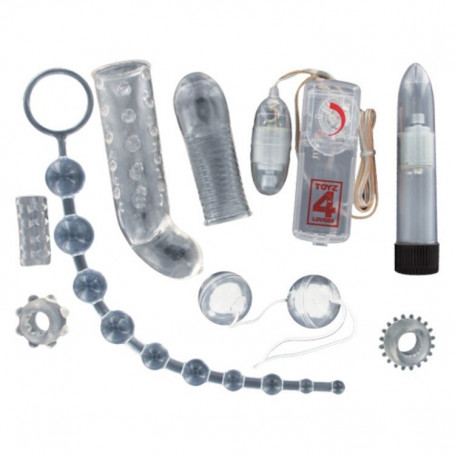 Kit del piacere sex toy per la coppia crystal diamond