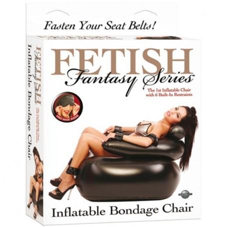 Poltrona gonfiabile fetish bondage chair