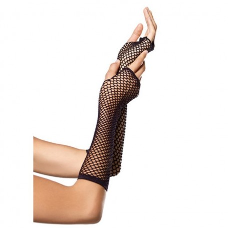 Guanti a rete net triangle black gloves