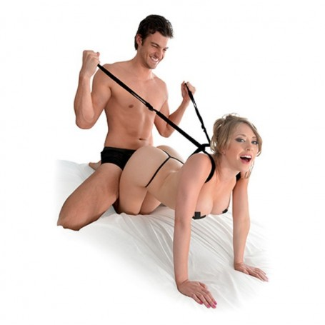 Imbracatura fetish costrittiva fantasy series giddy up harness toy