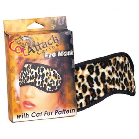 Maschera copri occhi leopard hot dream