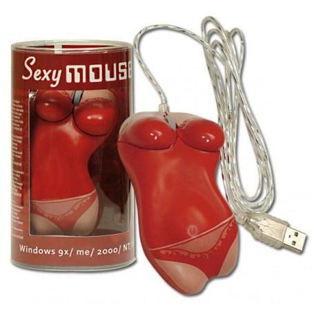 Sexy mouse usb red lingerie idea regalo