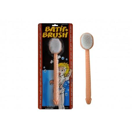 Spazzola per bagno con pene bath brush