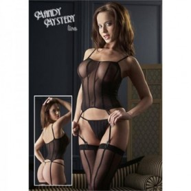 Guepiere Catsuit Strapshedmd Black