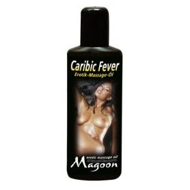 Oliio da massaggio aromatizzato 100 ml Caribic Fever