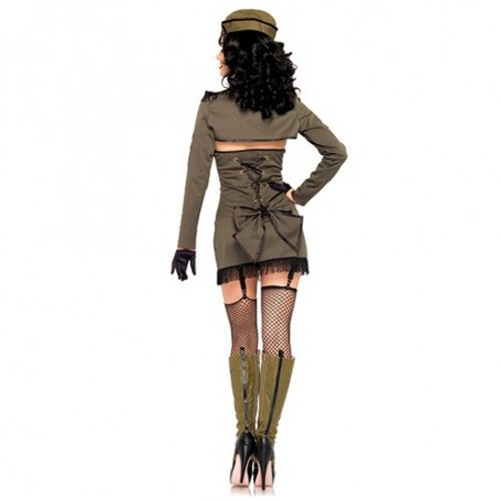 ABITO PIN UP ARMY GIRL