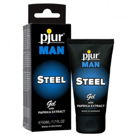 Gel per rinvigorire il pene Pjur Man Steel Gel 50ml