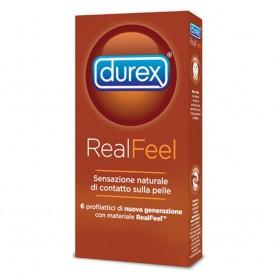 Profilattici preservativi Real feel durex 6 pezzi