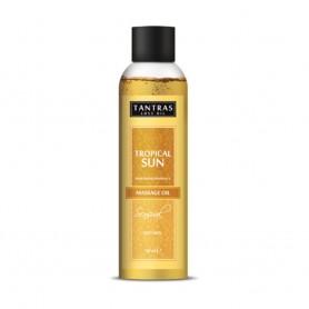 Olio per massaggi tantras love oil tropical sun