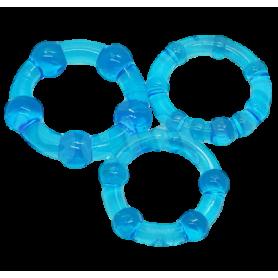 Kit anello per pene ring fallico cockring ritardante eiaculazione precoce