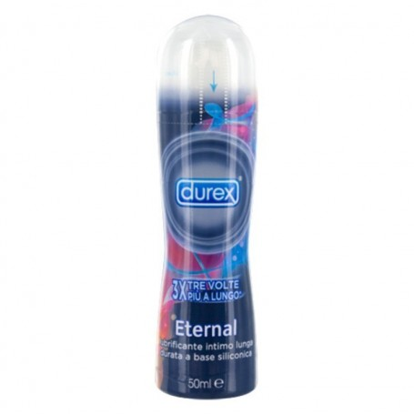 Lubrificante durex play eternal a base siliconica