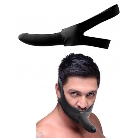 Fallo Vaginale Anale indossabile the face dildo strap on per viso