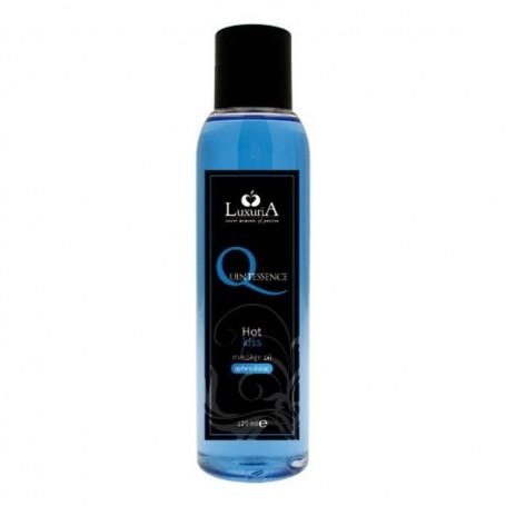 Quintessence massage oil hot kiss olio da massaggio afrodisiaco