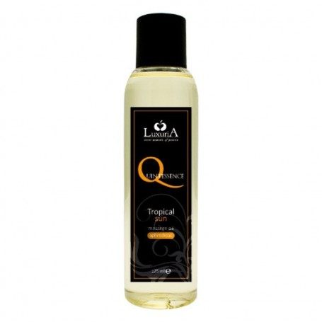 Quintessence massage oil tropical sun olio da massaggio afrodisiaco