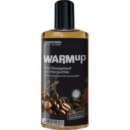 Warmup al caffe' liquido per massaggi