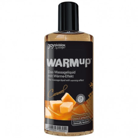 Warmup al sapore di vaniglia liquido per massaggi