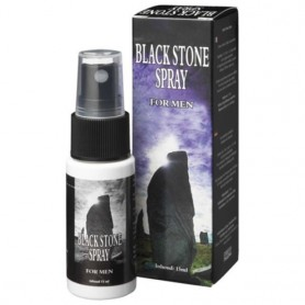 Ritardante contro eiaculazione precoce spray black stone for man