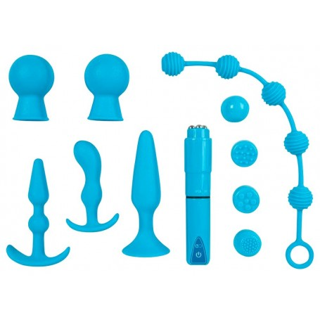 kit sex toys plug fallo e dildo anale e stimolatore clitoride Vaginale insider set