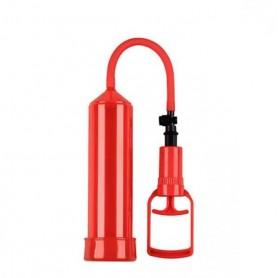 Pompa per allungare il pene sviluppatore pump up push touch Rosso