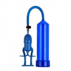 Pompa per allungare il pene sviluppatore pump up finger touch Blue
