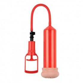 Pompa per allungare il pene sviluppatore pump up sense touch rosso