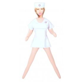 Bambola gonfiabile sexy infermiera realistica donna per uomo my nurse