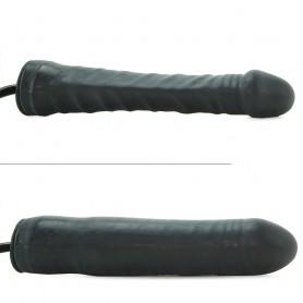Fallo Vaginale realistico dildo gonfiabile nero sex toys black stud 9,5