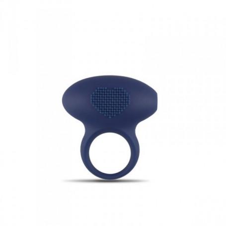Anello fallico vibrante per il pene uomo in silicone emphasis ring heart