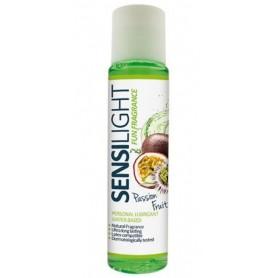 Lubrificante vaginale gel sensilight aromatizzato 60 ml a base acquosa frutto della passione