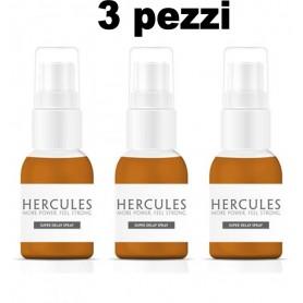 kit 3 pz Ritardante spray per uomo contro eiaculazione precoce hercules