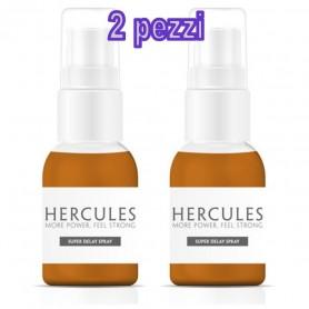 kit 2 pz Ritardante contro eiaculazione precoce hercules spray per uomo