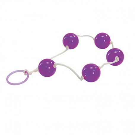 Palline del piacere anali vaginali jelly anal love balls violet