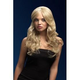 Parrucca biondo scuro per donna 66 cm Professionale Lunghezza media Rhianne bionda