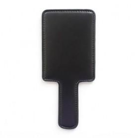 Paletta square paddle black sculacciatore frusta frustino sexy nero fetish bondage simil cuoio
