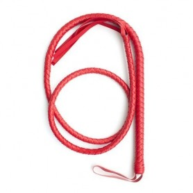 Frusta indy flog whip red frustino bondage sexy rosa fetish harness mistress