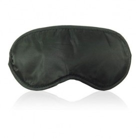 Blind soft mask black maschera nero bondage fetish da notte per dormire sexy per uomo e donna