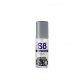 Lubrificante intimo vaginale anale 125 ml Blackcurrant lube gel crema a base acqua s8