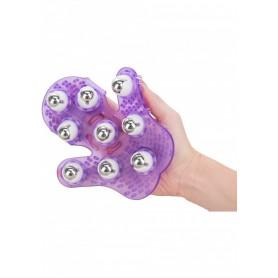 massaggiatore per massaggi schiena , corpo gambe anti cellulite seno glutei purple
