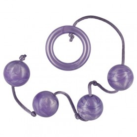 Pleasure Pearls 4 Violet palline anali vaginali
