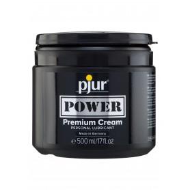 Crema lubrificante anale 500 ml intimo gel crema a base acqua salva preservativo pjur power