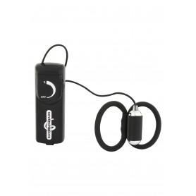 anello per pene indossabile nero vibrante maschile sesso uomo con telecomando