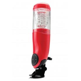 masturbatore maschile rosso automatico stimolatore per pene uomo sexy toys red