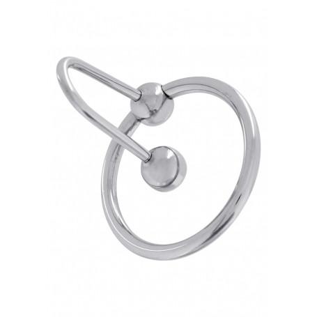Anello Fallico con tappo blocca sperma sperm stopper 28 mm
