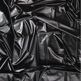 telo copriletto in lattex wetgames sexmax black 180 x 220