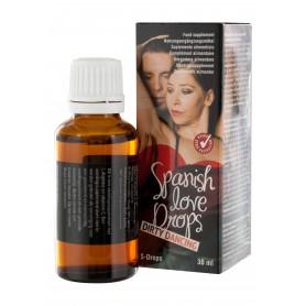 gocce d'amore stimolatore sessuale eccitazione erotica uomo e donna 30 ml
