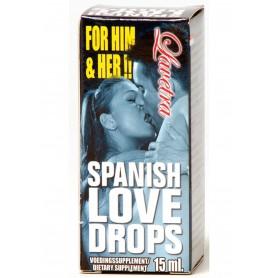 gocce sensuali afrodisiaco per uomo e donna massima eccitazione spanish love