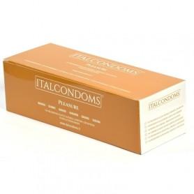 Preservativi profilattici 144 pz Natural italcondom aromatizzati Banana