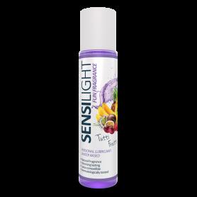 Lubrificante vaginale anale gel crema aromatizzato sensilight 60 ml a base acqua