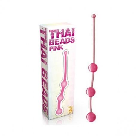 Fallo Anale Thai Beads Pink palline del piacere